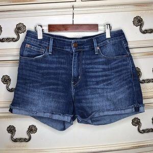 Levi's High-rise Denim Shorts
